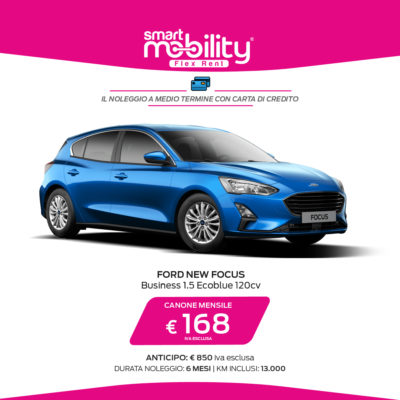 Ford Focus Business 1.5 Ecoblue 120CV 5p